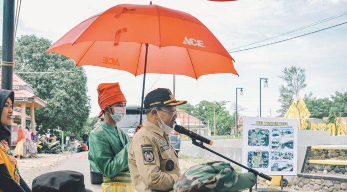 Resmikan Taman Macanga Ri Bontoramba, Bupati Jeneponto Ajak Undangan Menyumbang Pembangunan Masjid