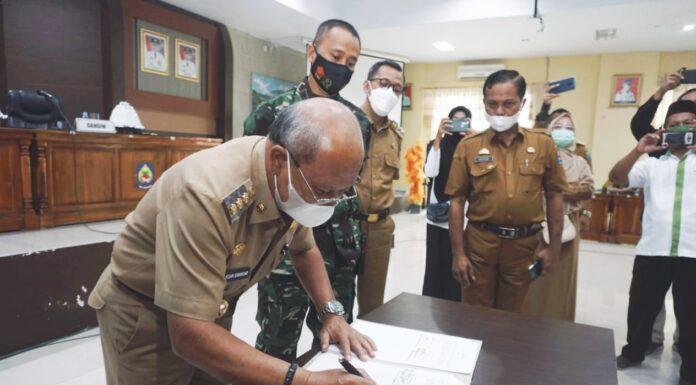 Pemkab Jeneponto Gandeng Kodim 1425 Tingkatkan Kualitas RTLH dan Rumah Dampak Bencana