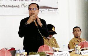 Ketua Komisi IV  DPRD Jeneponto Tegaskan, OPD Harus Perhatikan Hasil Musrembang