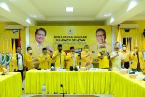 Pimcam dan Organisasi Sayap Partai Golkar Optimis Memenangkan Iksan Iskandar di Musda Ke-X