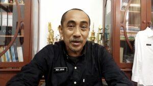 Kepala Dinas Perdagangan dan Perindustrian (Perdagin) Kabupaten Jeneponto, Muh Jafar saat ditemui? awak media diruang kerjanya, Kamis, 4 Maret 2021.