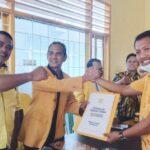 Iksan Iskandar Resmi Mengambil Formulir Calon Ketua DPD II partai Golkar Jeneponto