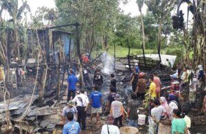 Kebakaran Terjadi di Bontang dan Mattiro Baji, Hanguskan 2 Rumah dan 7 Unit Motor