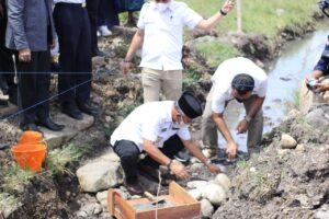 Letakkan Batu Pertama Pembangunan Ponpes Roudhoutul Huffadz, Bupati Jeneponto Bilang ini