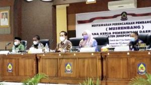 Anggota DPRD Sulsel, Vonny Ameliani Hadiri Musrenbang RKPD di Jeneponto