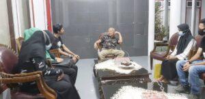 Ketua dan Pengurus HMI Jeneponto Silaturahmi Dengan Ketua KAHMI